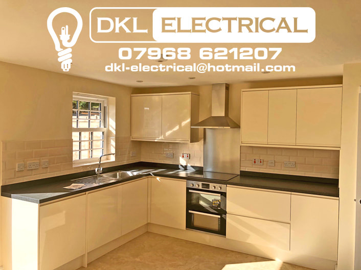 qualified electrician stourport KITCHENS dklelectrical
